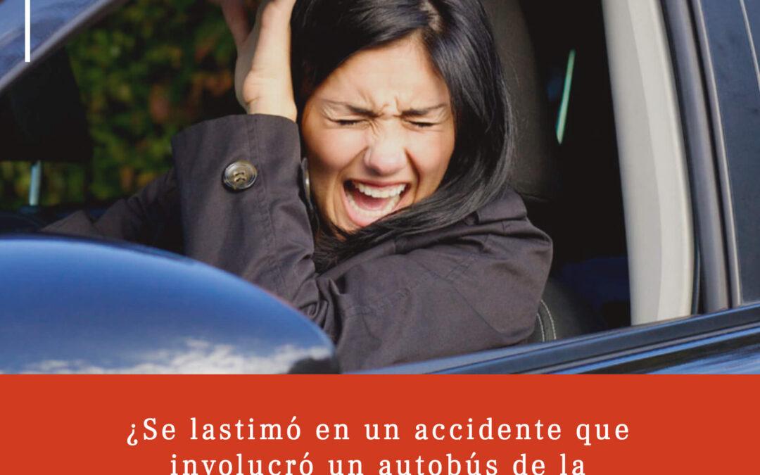Cómo avanzar si estuvo involucrado en un accidente con un autobús de la ciudad o del condado