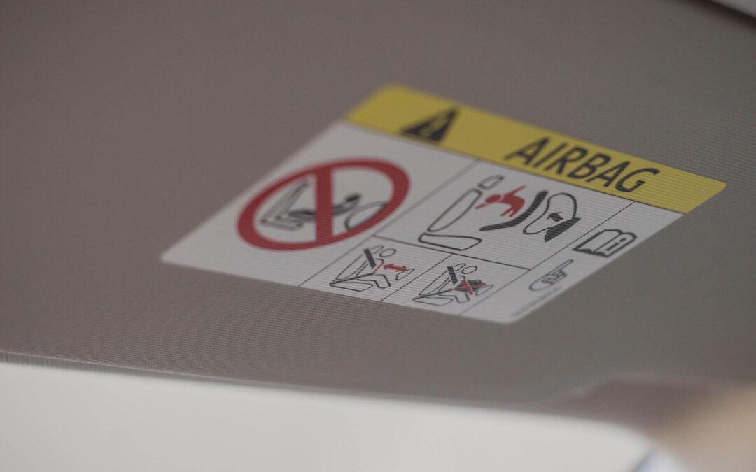 Cómo mantenerse seguro en caso de accidente de auto