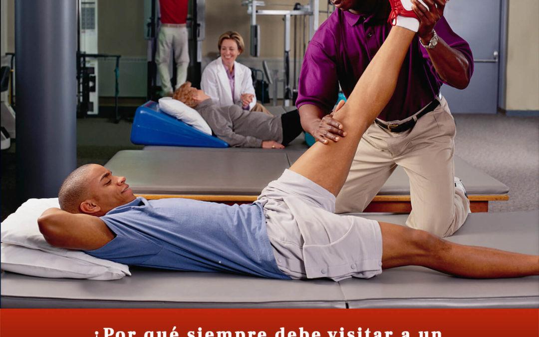 Por qué siempre debe visitar a un fisioterapeuta después de un accidente