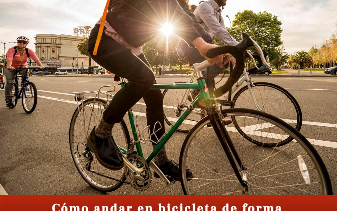 Cómo andar en bicicleta de manera legal y segura